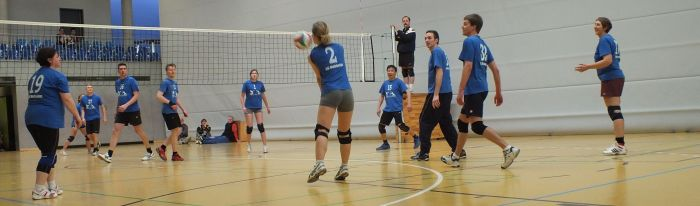 Volleyball Trainingszeiten